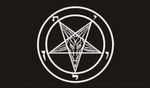BAPHOMET CHURCH OF SATAN - 5 X 3 FLAG